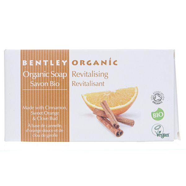 Bentley Organic Mydło odżywiające z cynamonem - 150 g zdjęcie 1