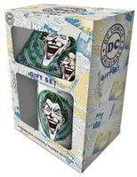 Zestaw prezentowy: kubek, podkładka, brelok do kluczy DC Originals (Joker)
