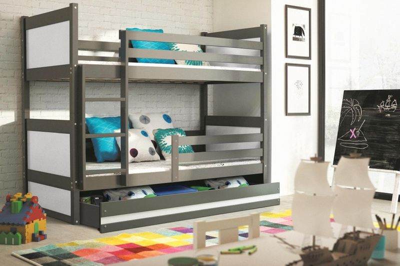 łóżko Piętrowe Dziecięce Rico Meble Dla Dzieci 200x90 Szuflada