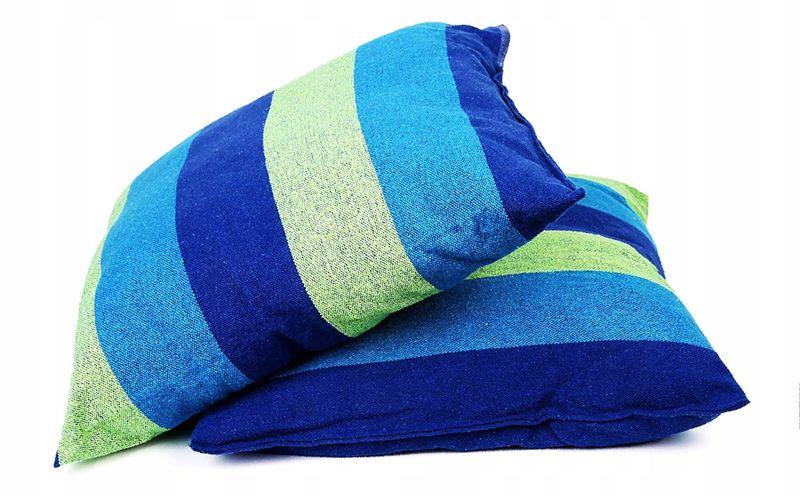Krzesło brazylijskie wiszące Hamak z poduszkami zdjęcie 7