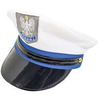 czapka POLICJANT strój POLICJA kawalerski KARNAWAŁ