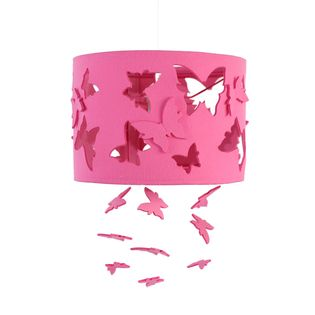 Różowa lampa motyle dla dziewczynki  PROMOCJA