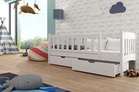 ŁÓŻKO parterowe GUCIO pod materac 70X160  łóżeczko dziecięce kojec