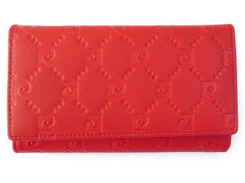 Czerwony portfel damski Pierre Cardin PFD10 zdjęcie 1
