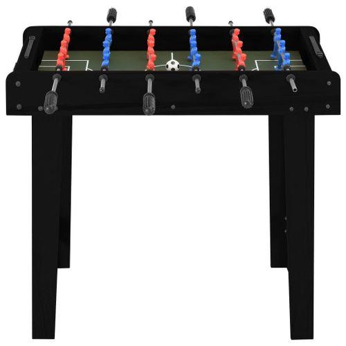 Lumarko Mini stół do gry w piłkarzyki, 69 x 37 x 62 cm, czarny na Arena.pl