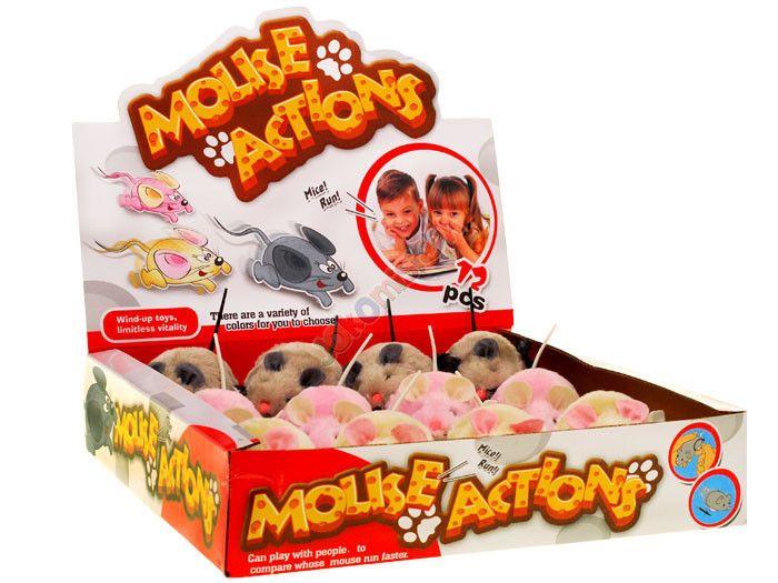Nakręcana MYSZKA dla dziecka i kotka mysz ZA0838 zdjęcie 7