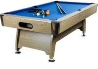 Stół bilardowy pool bilard 8ft + akcesoria bilardowe M08673