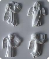 Forma do odlewów - Odlewy gipsowe - Cztery aniołki (2713057)