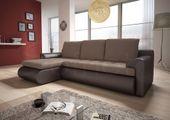 Narożnik Santi II w materiale zmywalnym - kanapa, sofa, łóżko, rogówka zdjęcie 4