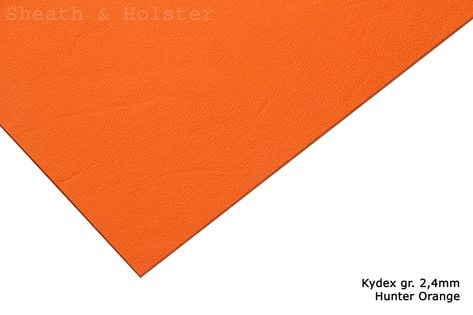 Kydex Hunter Orange - 150x200mm gr. 2,4mm