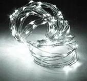 MIKRO LAMPKI LED DRUCIK 300 ZIMNA BIEL FUNKCJA zdjęcie 1