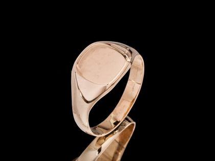 P515 Złoty pierścionek / sygnet   585