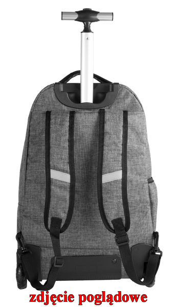 1749551809779 Plecak CoolPack SUMMIT na kółkach czarny, SNOW BLACK 863 (72373) zdjęcie 2