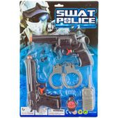 ZESTAW policjanta POLICJA pistolet KAJDANKI pałka zdjęcie 2