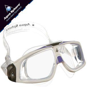 Gogle pływackie SEAL 2.0 LADY Kolor - Aqua Sphere - Seal 2.0 Lady - MS161115 - biały / fiolet / jasne szkła