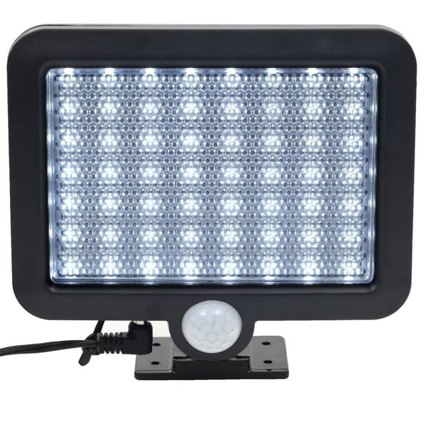 Lampa solarna z czujnikiem ruchu, białe LED zdjęcie 5