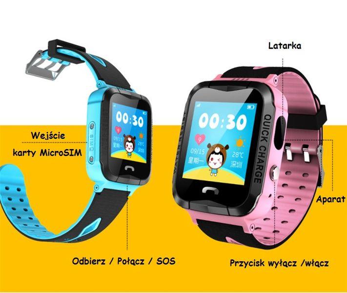 1cf244720c2e Smartwatch Wodoszczelny Zegarek Dzieci Lokalizator GPS Aparat Telefon  zdjęcie 8