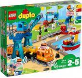 Lego polska DUPLO Pociąg towarowy