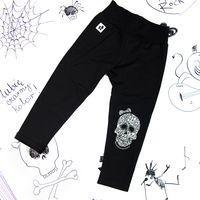 Rockowe czarne półśpiochy dziecięce Skull Girl Mia Rock 98