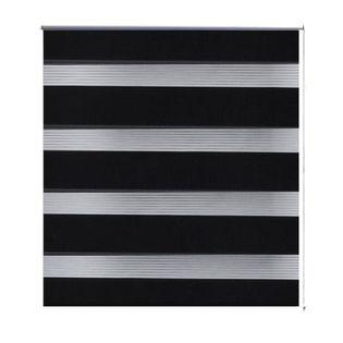Roleta Zebra (40 X 100 Cm) Czarna