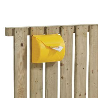 Skrzynka pocztowa na listy na plac zabaw