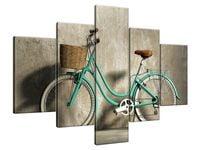 Obraz Drukowany 100x70 Rower retro  malowidło  sprawunek