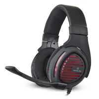 Słuchawki gamingowe REAL-EL GDX-7880 VIBRATION SURROUND 7.1 black-red