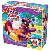 GRA ZRĘCZNOŚCIOWA HIPCIO NA GAZIE FIZZY DIZZY HIPPO - TOMY