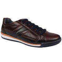 Półbuty PEGADA 116908 brąz Rozmiar obuwia - 44, Kolor - Brązowy