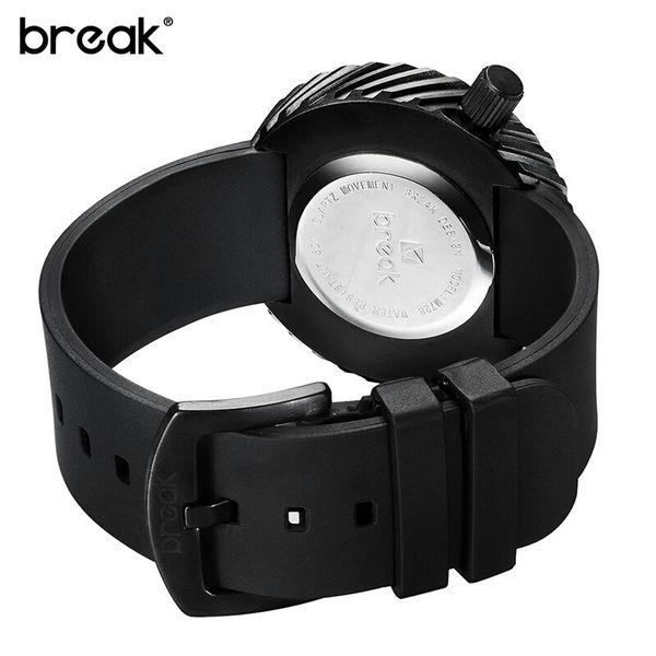 Nowoczesny, męski zegarek Break w eleganckim pudełku zdjęcie 4