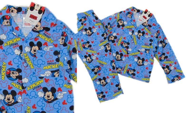 Ogromny Piżama flanelowa piżamka FLANELA myszka MICKEY 92 98 S115 • Arena.pl SH94