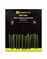 Ridge Monkey- Anti Tangle Sleeves 25mm Weed Green