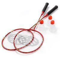Zestaw rakietek do badmintona ROX 2007ST 2 szt. rakiet + 3 szt. lotek univ