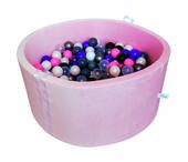 Suchy basen dla dzieci z piłeczkami - grube DNO - VELVET