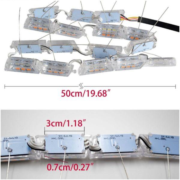 ŚWIATŁA DRL LED + płynący kierunkowskaz zdjęcie 5