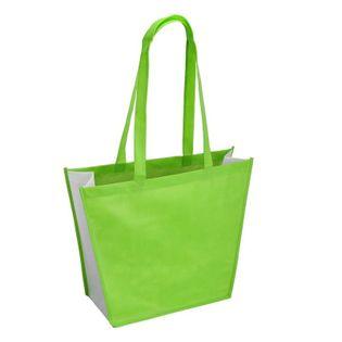 Torba na zakupy i plażę, zielony