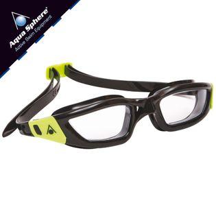 Okulary pływackie KAMELEON Kolor - Aqua Sphere - Kameleon - EP132113 - czarny / zielony / jasne szkła