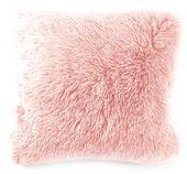 Poduszka z Wypełnieniem Włochata Poduszka + Poszewka Różowa Pink 40x40