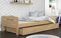 Łóżko BARTEK 200x90 szuflada + materac