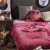 Koc – poduszka składany, dla dziecka, maskotka, pluszak
