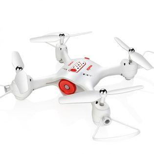 Syma X23W (kamera FPV WiFi, 2.4GHz, żyroskop, auto-start, zawis, zasięg do 25m, 21cm) - Biały