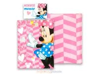 Pościel dla dzieci 100x135 Myszka Minnie Róż