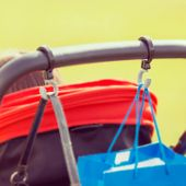 DIONO Haczyki do wózka Buggy Hooks 2szt zdjęcie 2