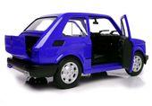 FIAT 126p Samochód PRL Duży MALUCH Auto Welly 1:21 METALOWY MODEL