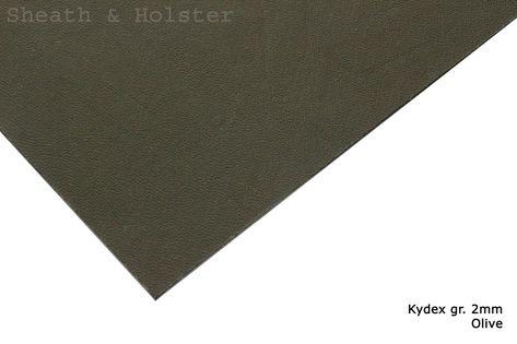 Kydex Olive - 150x200mm gr. 2mm