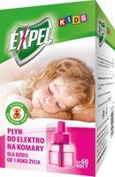 Expel Kids Płyn Do Elektrofumigatorów Na Komary - Dla Dzieci -  60 Nocy