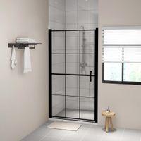 Lumarko Drzwi prysznicowe, hartowane szkło, 100x178 cm , czarne!