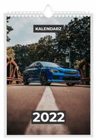 Kalendarz 2022 SUBARU 13 stron A4