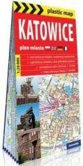Plastic map Katowice 1:20 000 plan miasta