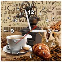 ZEGAR  Aromatyczna kawa o poranku 30x30
